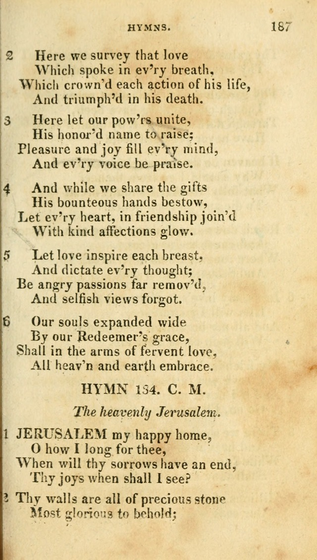 A Selection of Hymns, from the Best Authors page 195