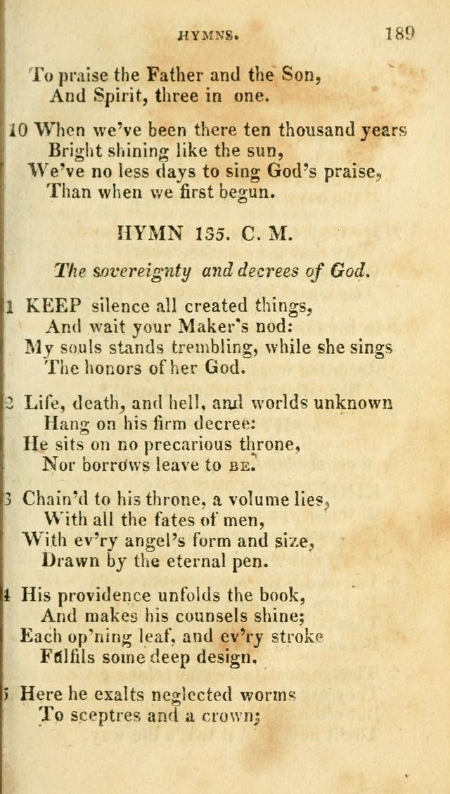 A Selection of Hymns, from the Best Authors page 197