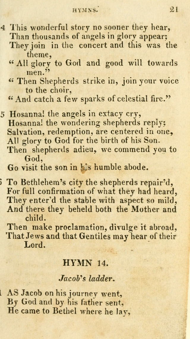 A Selection of Hymns, from the Best Authors page 25