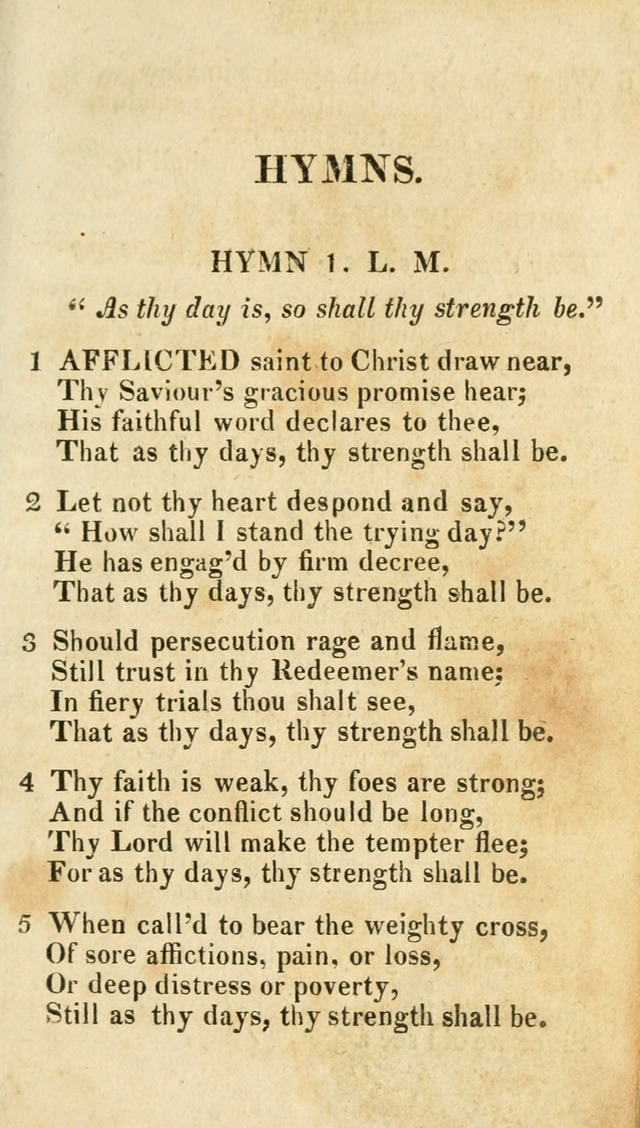 A Selection of Hymns, from the Best Authors page 3