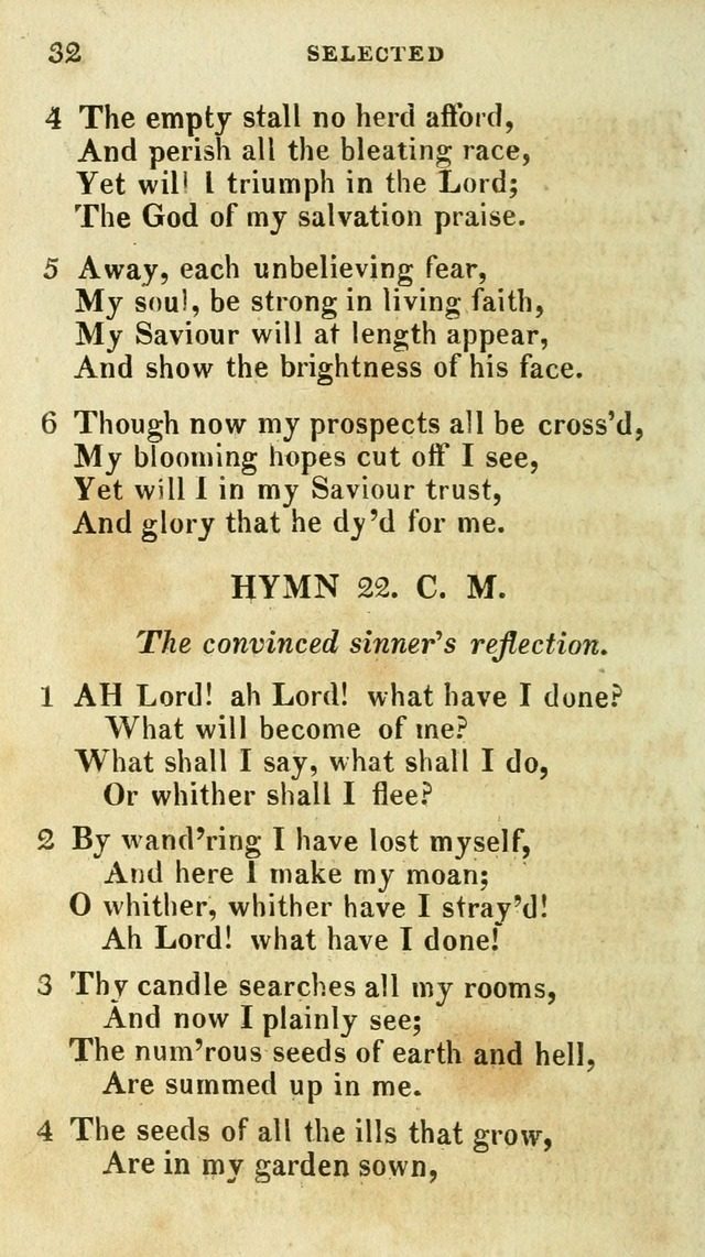 A Selection of Hymns, from the Best Authors page 36