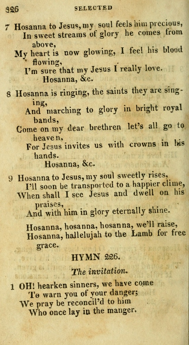 A Selection of Hymns, from the Best Authors page 382