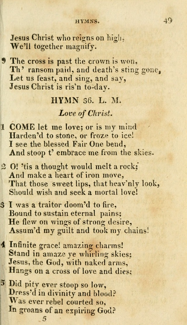 A Selection of Hymns, from the Best Authors page 53