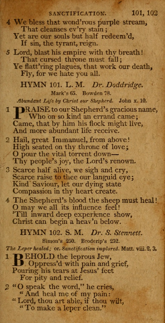 A Selection of Hymns from the Best Authors.: including a great number of originals: intended to be an appendix to Dr. Watts
