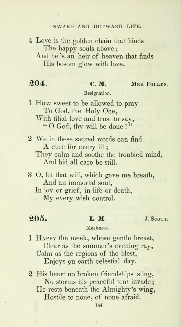 The School Hymn-Book: for normal, high, and grammar schools page 144