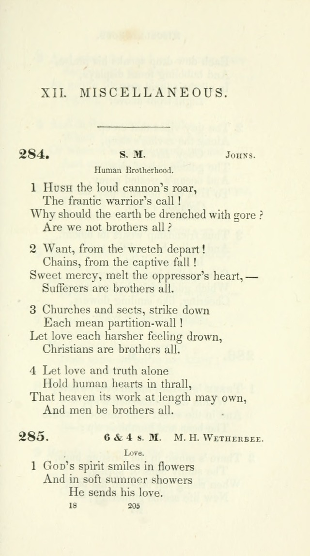 The School Hymn-Book: for normal, high, and grammar schools page 205