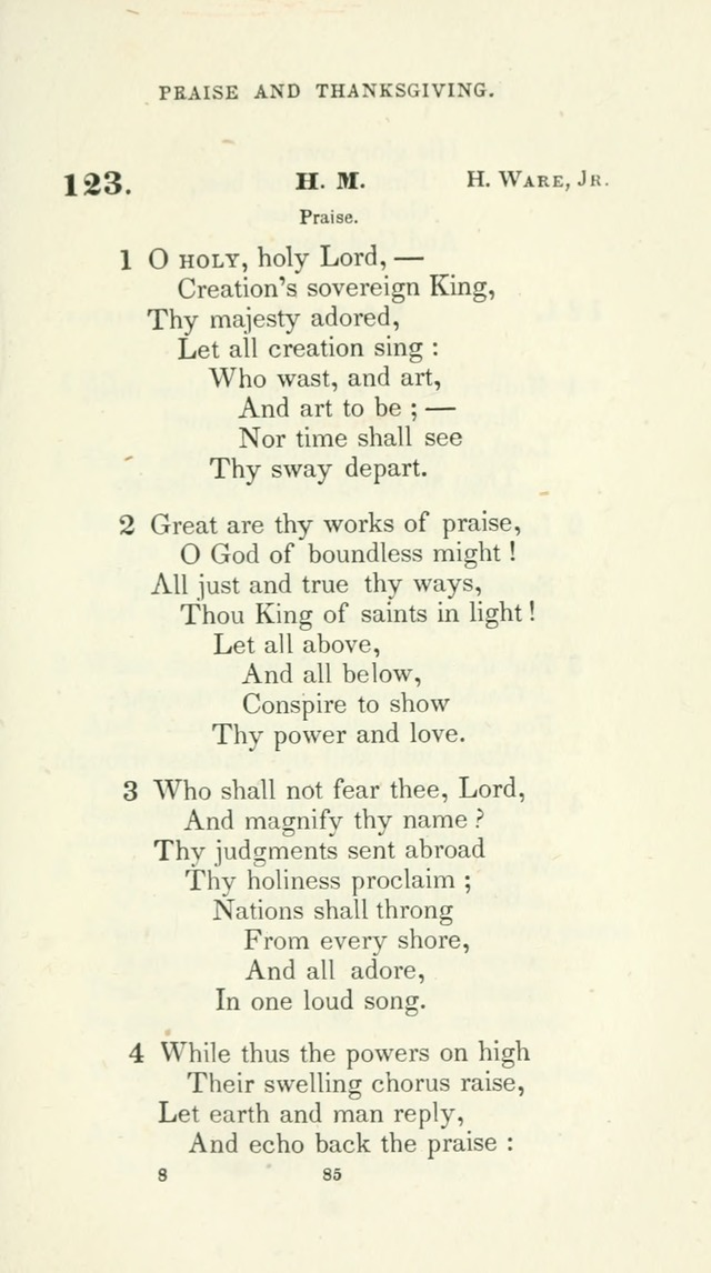 The School Hymn-Book: for normal, high, and grammar schools page 85