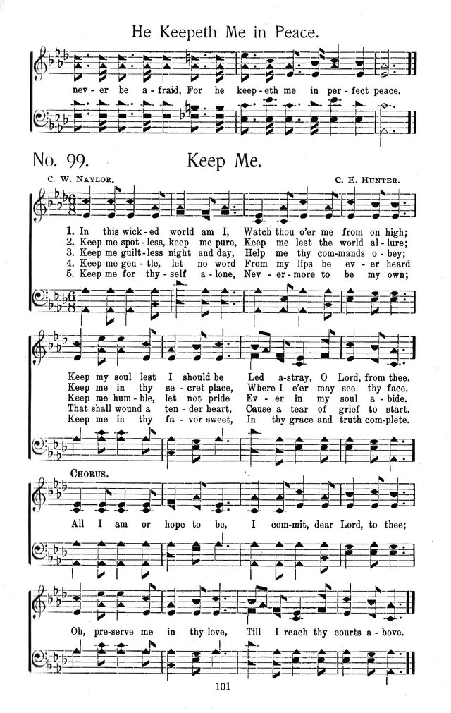 Select Hymns: for Christian worship and general gospel service page 101