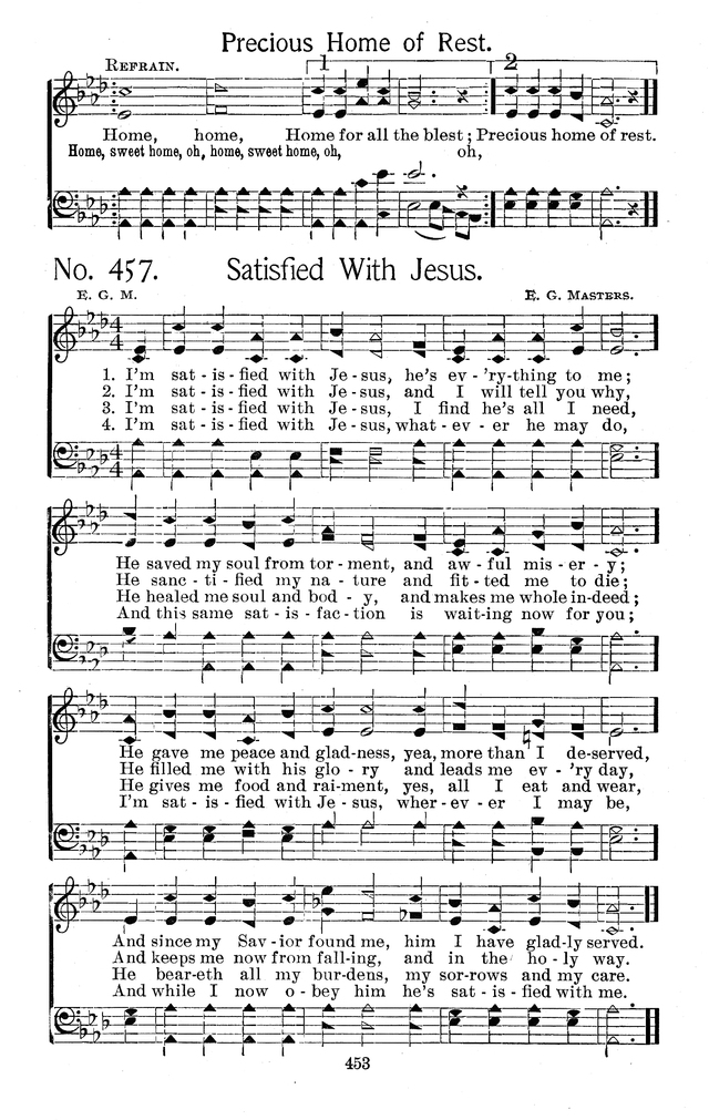 Select Hymns: for Christian worship and general gospel service page 453