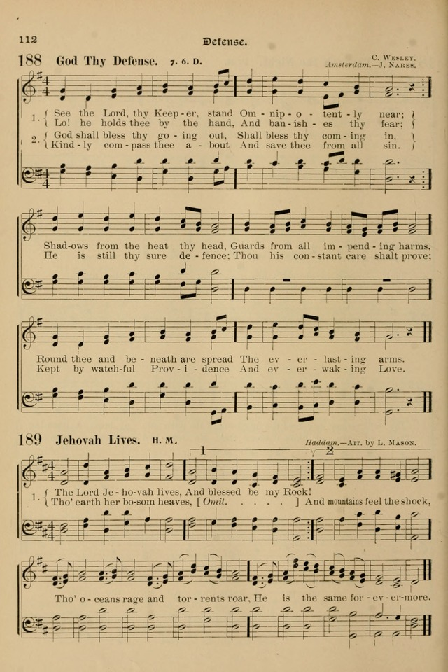 Song-Hymnal of Praise and Joy, a selection of spiritual songs, old and new page 111
