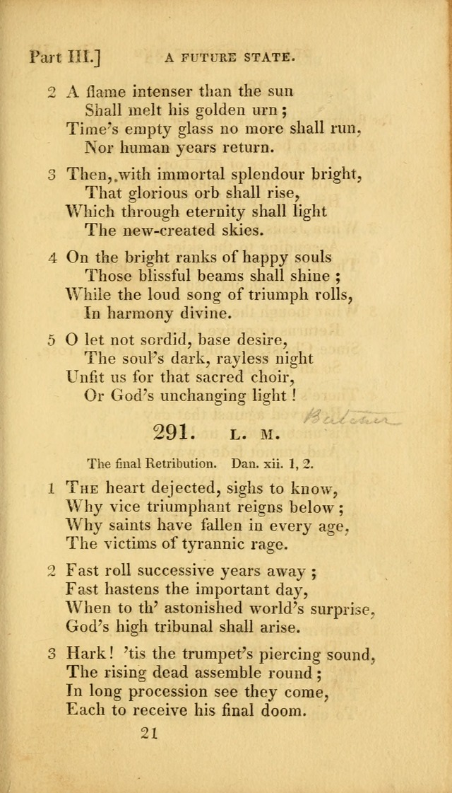 A Selection of Hymns and Psalms for Social and Private Worship (2nd ed. Enl. and Imp.) page 241