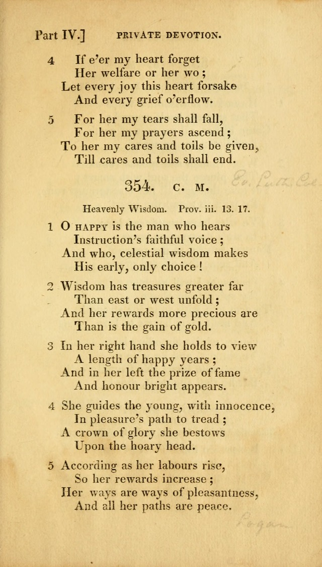 A Selection of Hymns and Psalms for Social and Private Worship (2nd ed. Enl. and Imp.) page 295