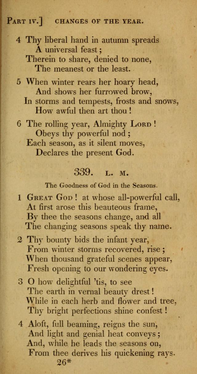 A Selection of Hymns and Psalms for Social and Private Worship (6th ed.) page 287