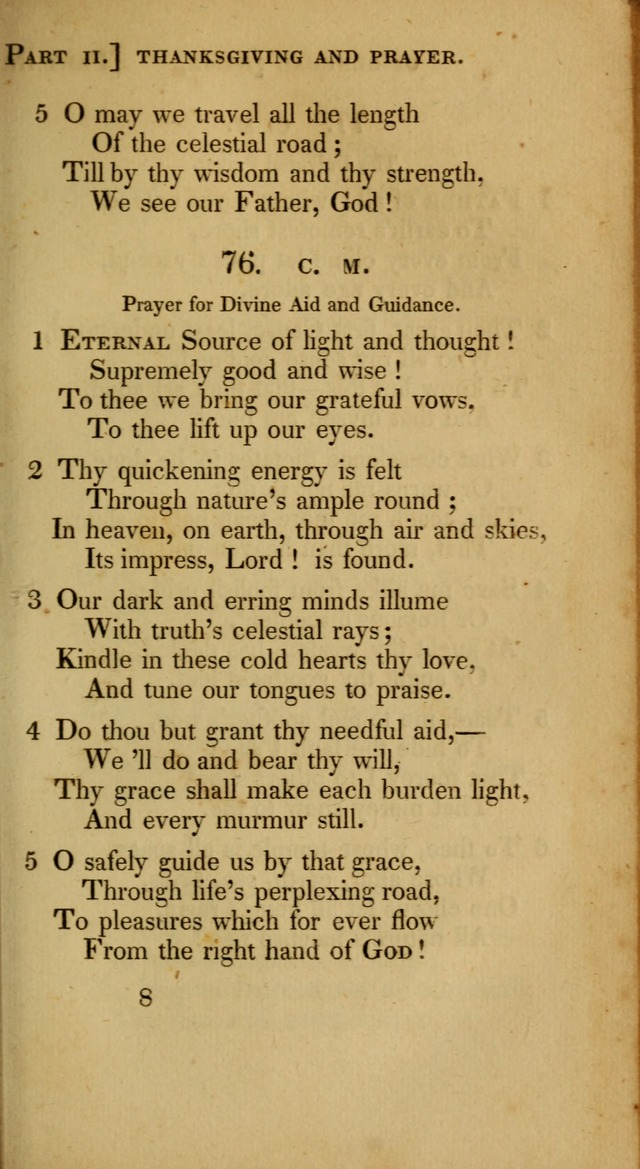 A Selection of Hymns and Psalms for Social and Private Worship (6th ed.) page 65