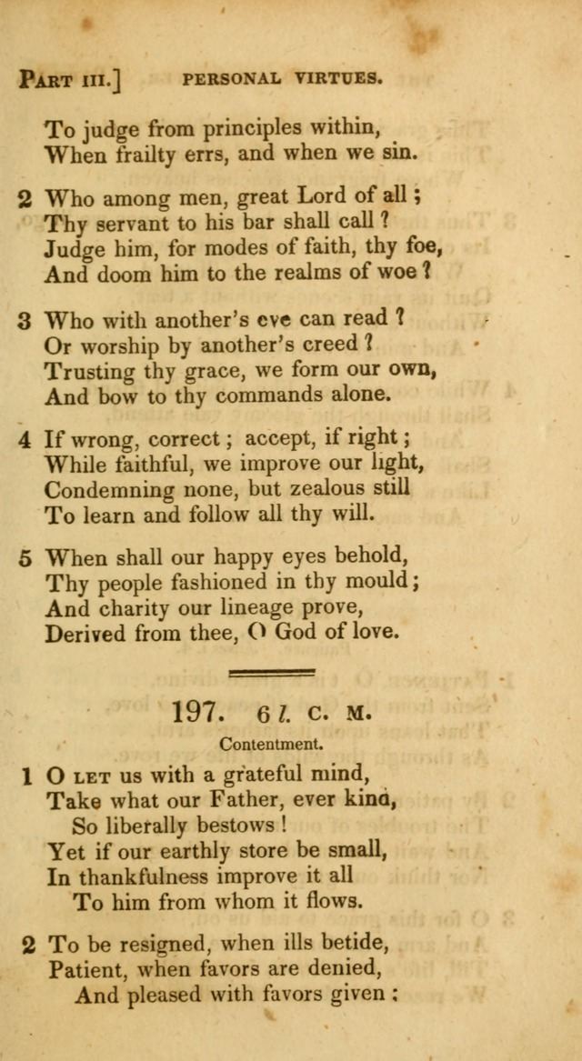 A Selection of Hymns and Psalms, for Social and Private Worship. (11th ed.) page 160