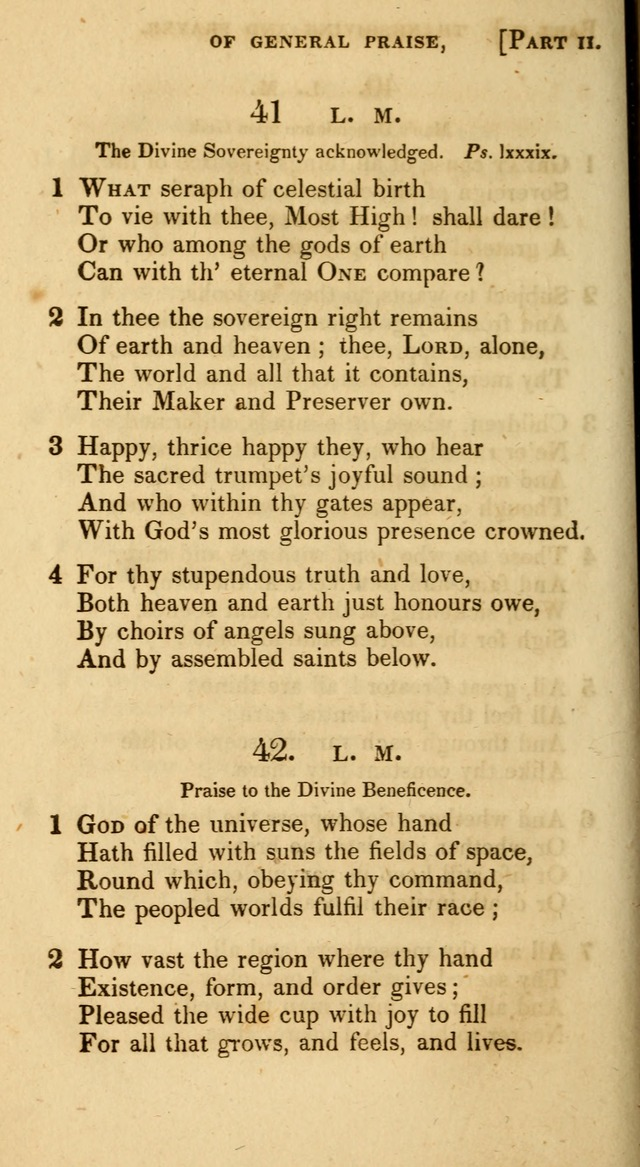 A Selection of Hymns and Psalms, for Social and Private Worship. (11th ed.) page 33
