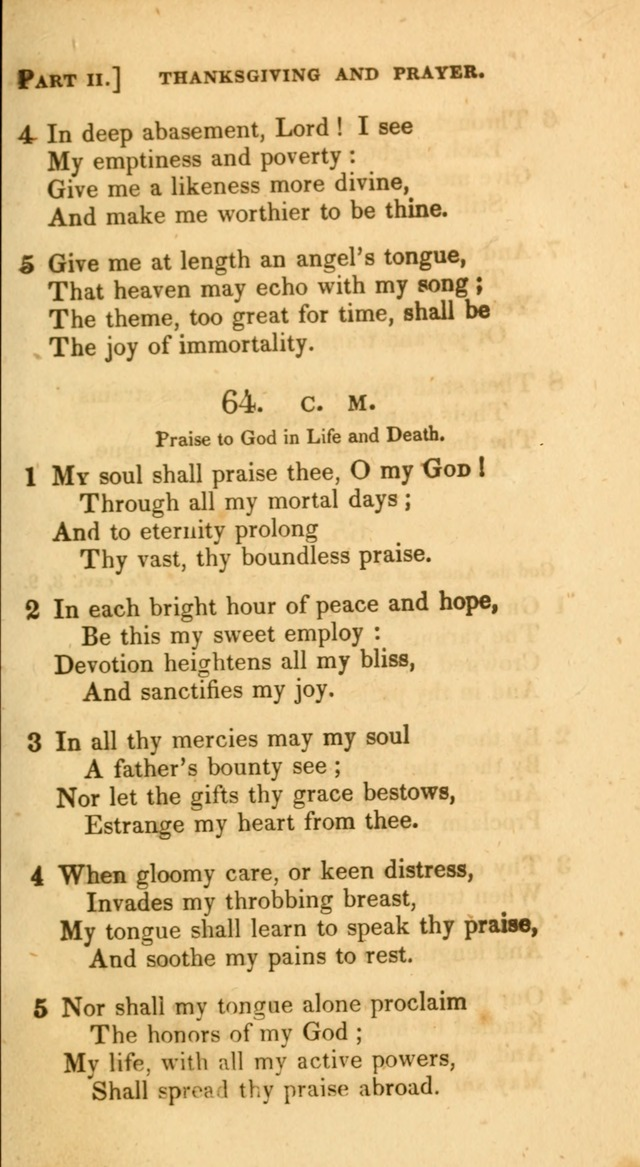 A Selection of Hymns and Psalms, for Social and Private Worship. (11th ed.) page 52