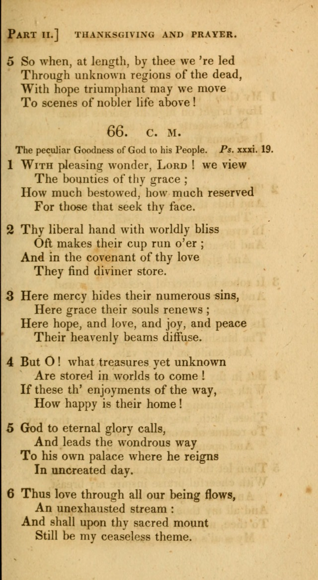 A Selection of Hymns and Psalms, for Social and Private Worship. (11th ed.) page 54
