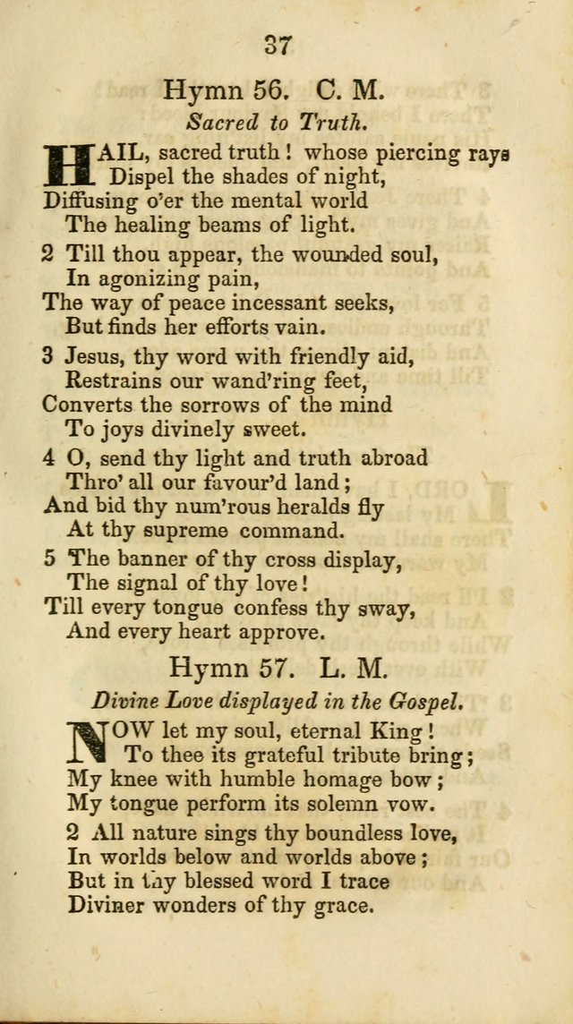 Selection of Hymns for the Sunday School Union of the Methodist Episcopal Church page 37