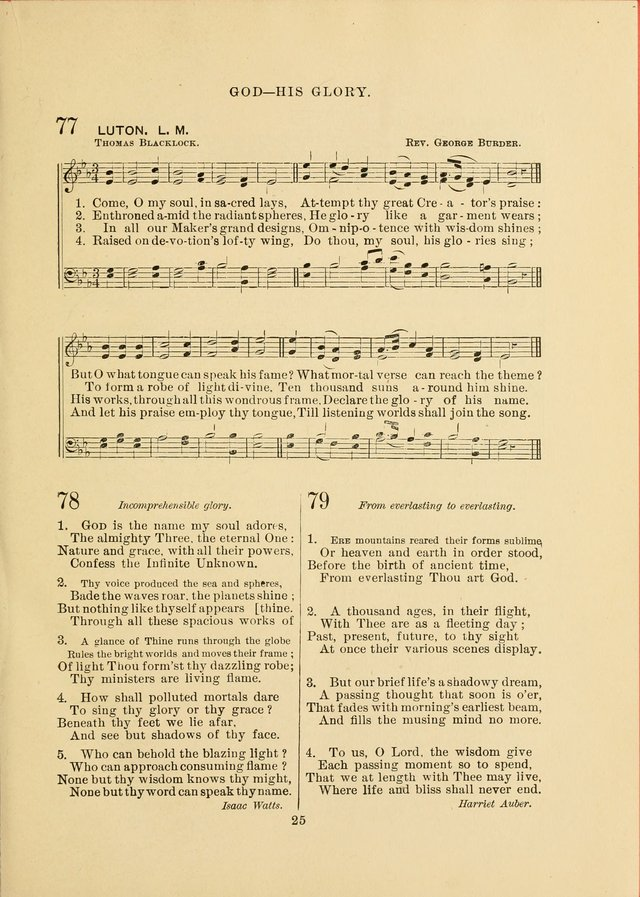 Sacred Hymns and Tunes: designed to be used by the Wesleyan Methodist Connection (or Church) of America page 25