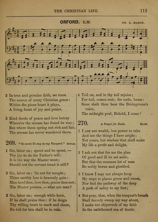 Social Hymns and Tunes, for the Conference and Prayer Meeting, and the Home with services and prayers page 111
