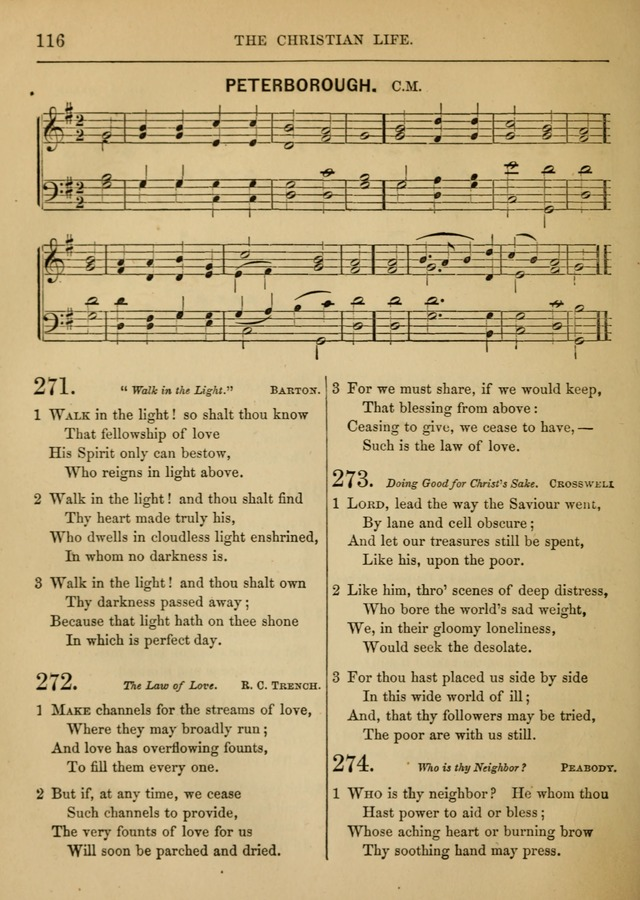 Social Hymns and Tunes, for the Conference and Prayer Meeting, and the Home with services and prayers page 112
