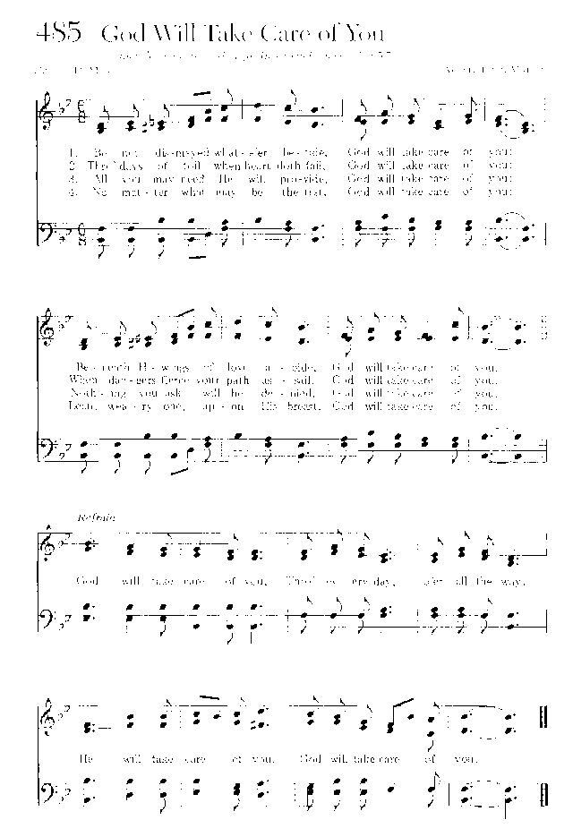 Sing Joyfully 485 Be Not Dismayed Whateer Betide Hymnary