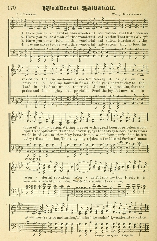 Songs of Love and Praise No. 2 for use in meetings for christian worship or work page 171