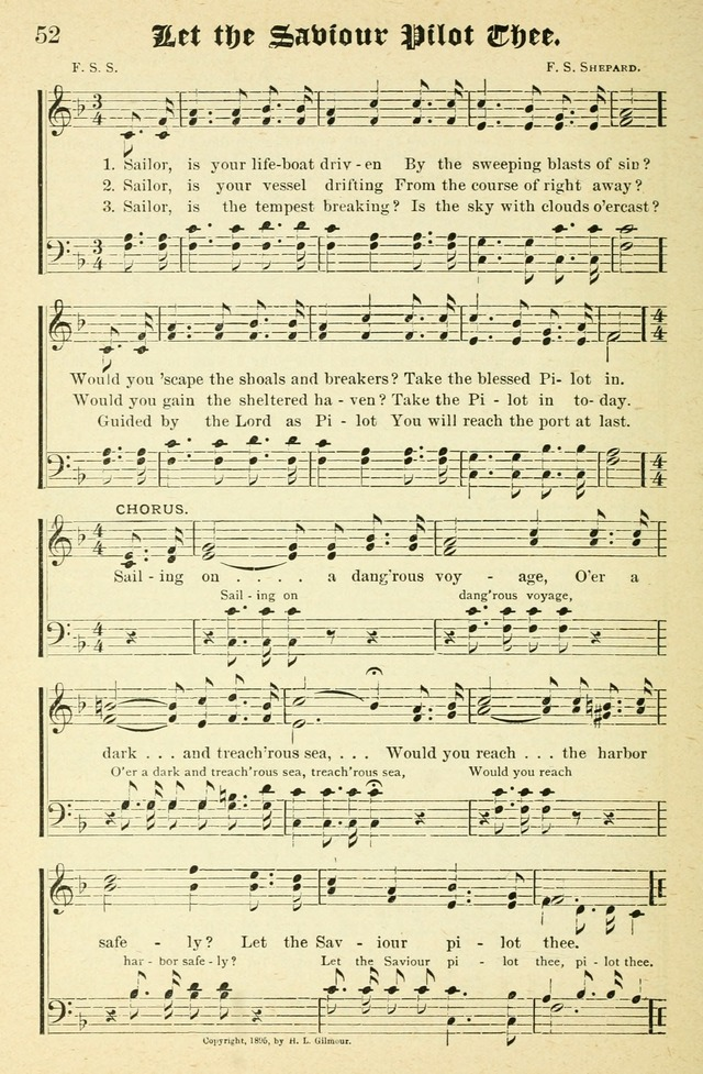 Songs of Love and Praise No. 2 for use in meetings for christian worship or work page 53