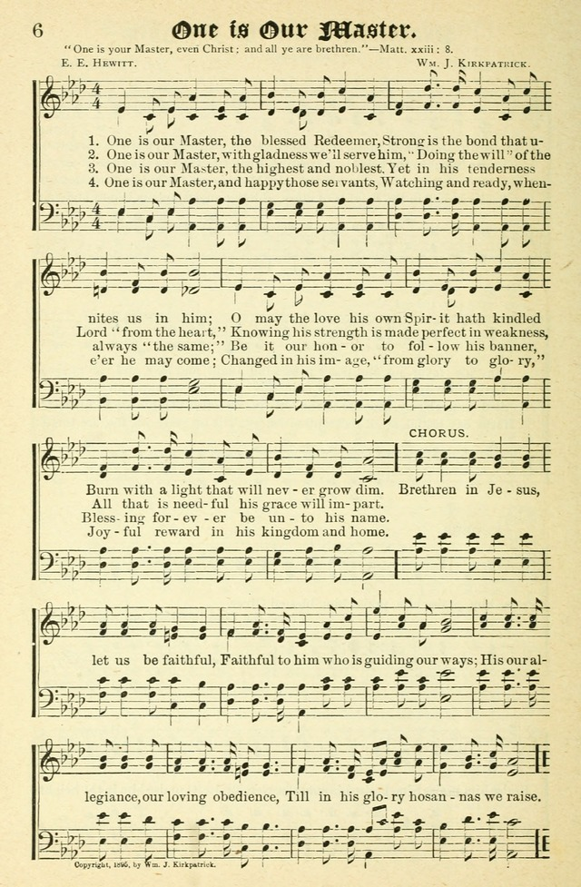 Lyric blessed redeemer lyrics : One is our Master, the blessed Redeemer | Hymnary.org
