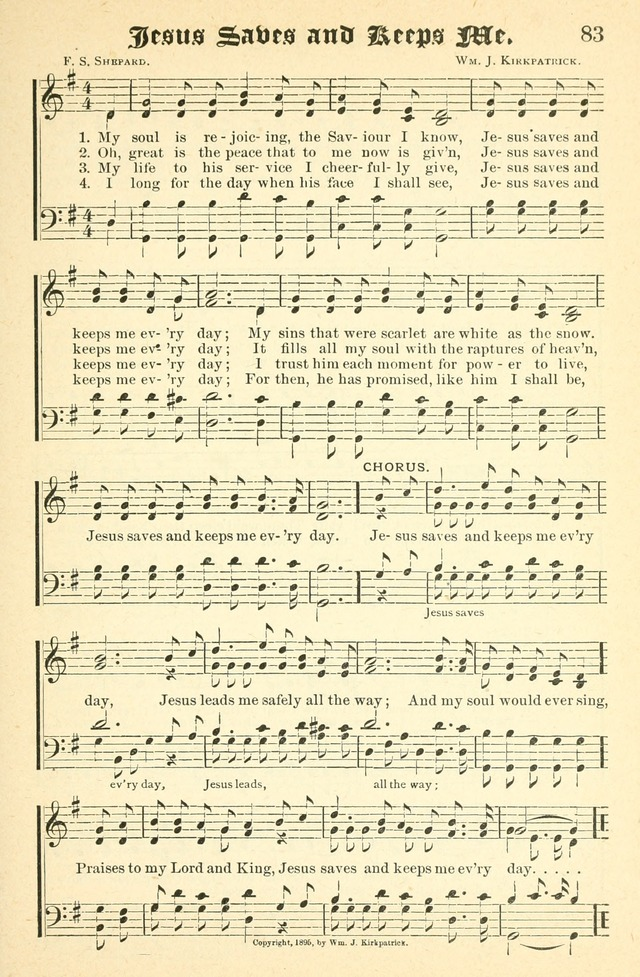Songs of Love and Praise No. 2 for use in meetings for christian worship or work page 84