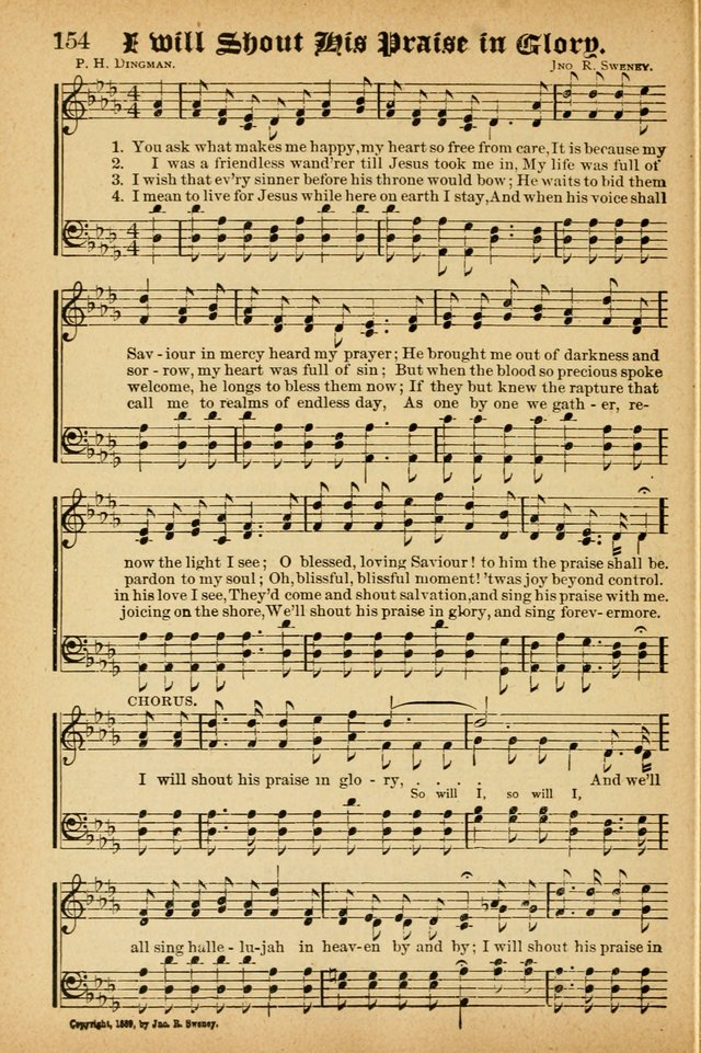 Songs of Love and Praise No. 3 : For use in Meetings for Christian Worship of Work page 153
