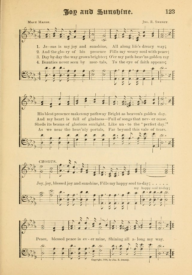 Songs of Love and Praise No. 5: for use in meetings for Christian worship or work page 111