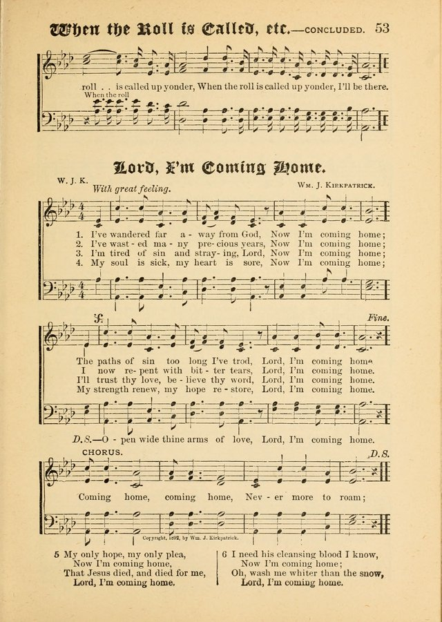 Songs of Love and Praise No. 5: for use in meetings for Christian worship or work page 45