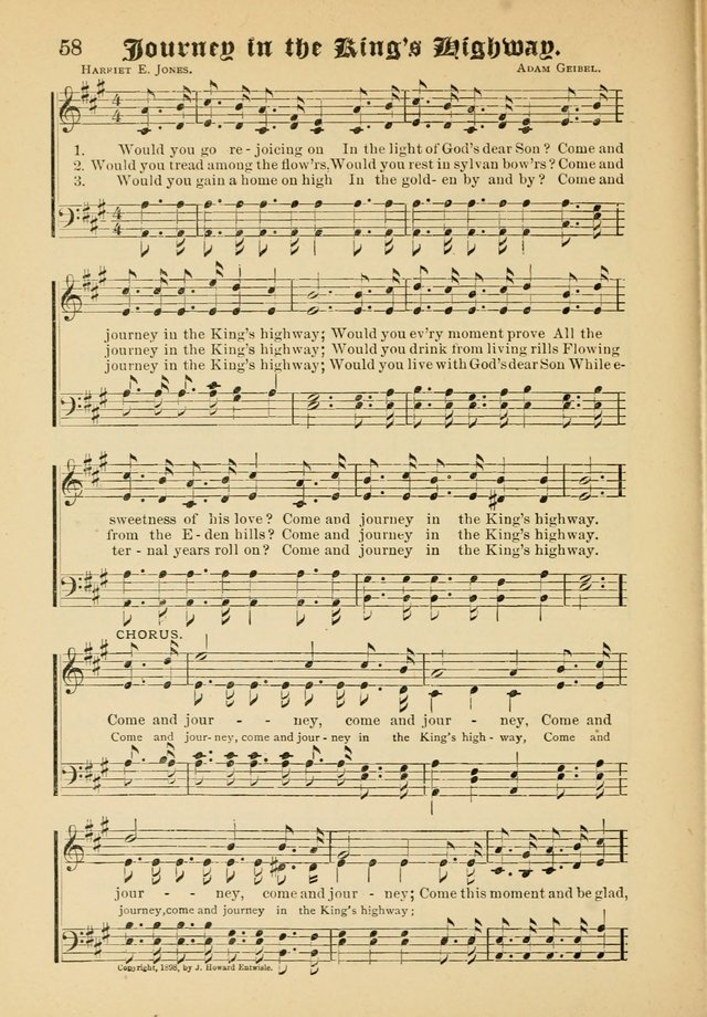Songs of Love and Praise No. 5: for use in meetings for Christian worship or work page 50