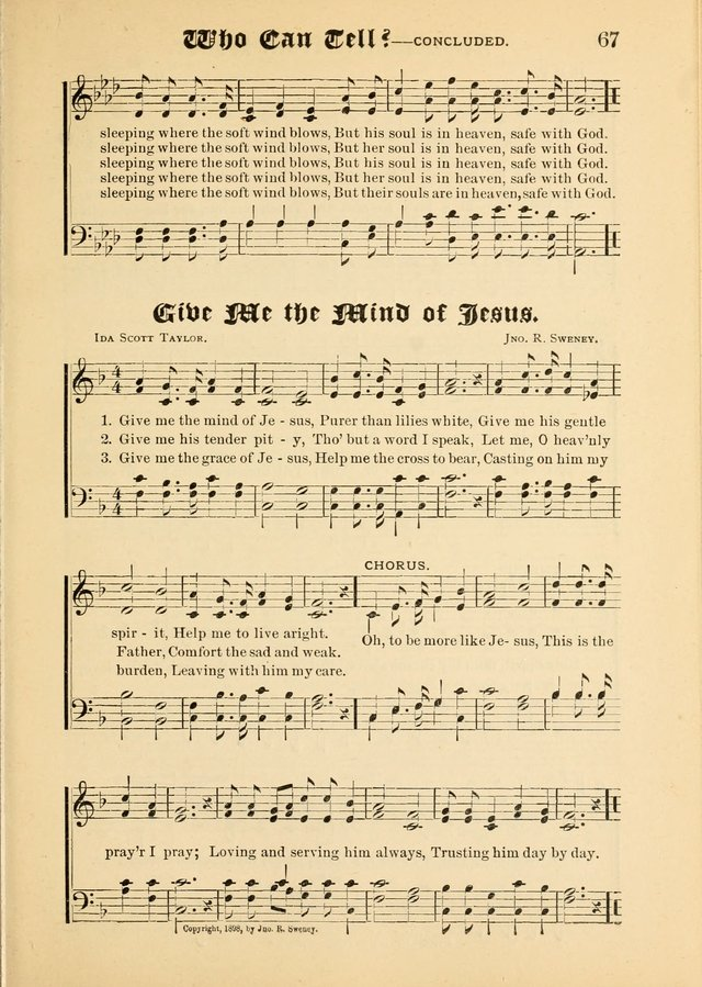 Songs of Love and Praise No. 5: for use in meetings for Christian worship or work page 57