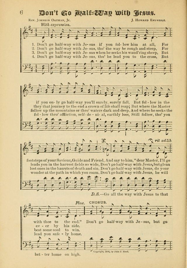 Songs of Love and Praise No. 5: for use in meetings for Christian worship or work page 6