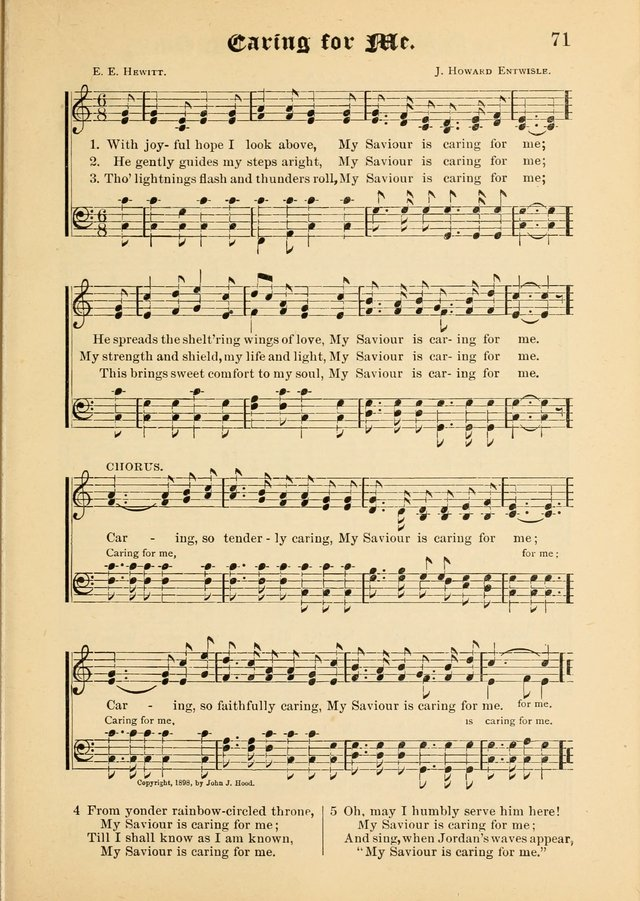 Songs of Love and Praise No. 5: for use in meetings for Christian worship or work page 61