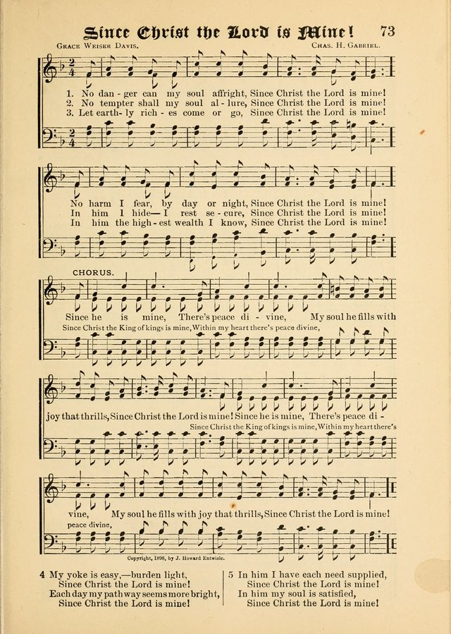 Songs of Love and Praise No. 5: for use in meetings for Christian worship or work page 63