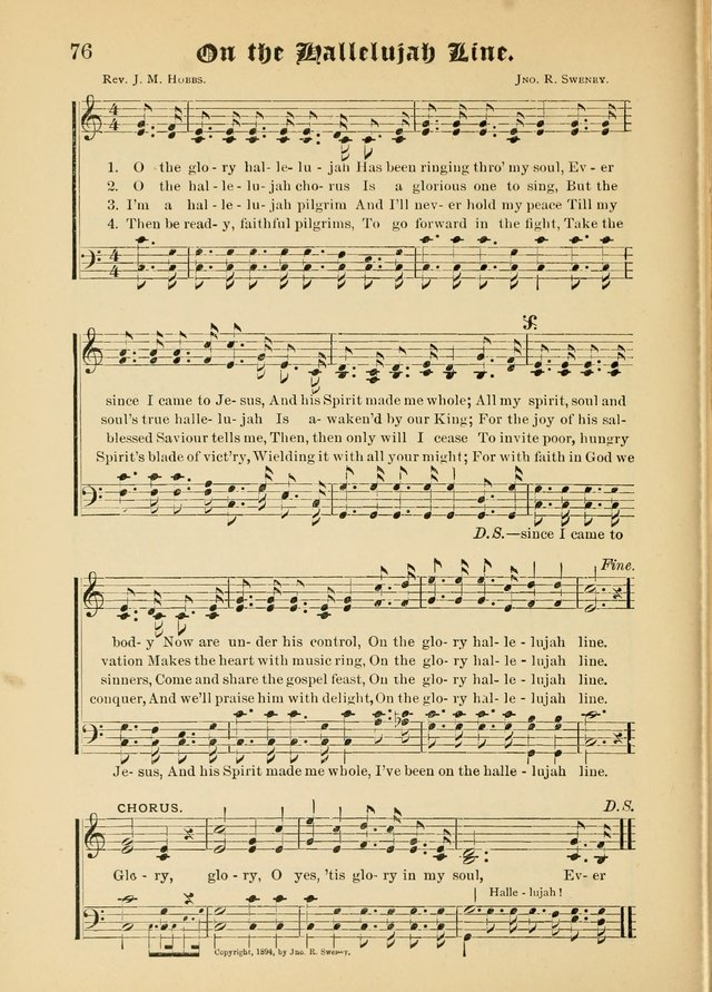 Songs of Love and Praise No. 5: for use in meetings for Christian worship or work page 66