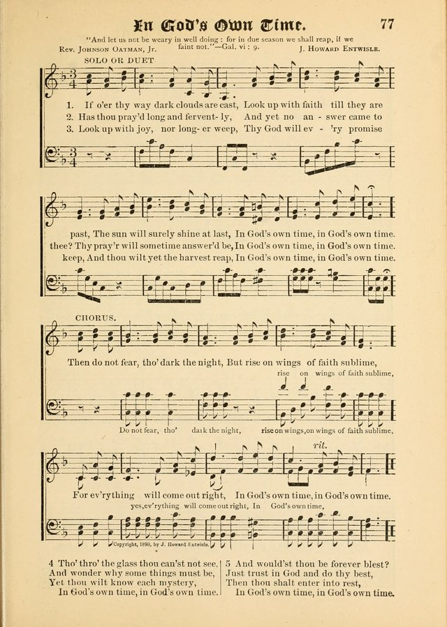 Songs of Love and Praise No. 5: for use in meetings for Christian worship or work page 67