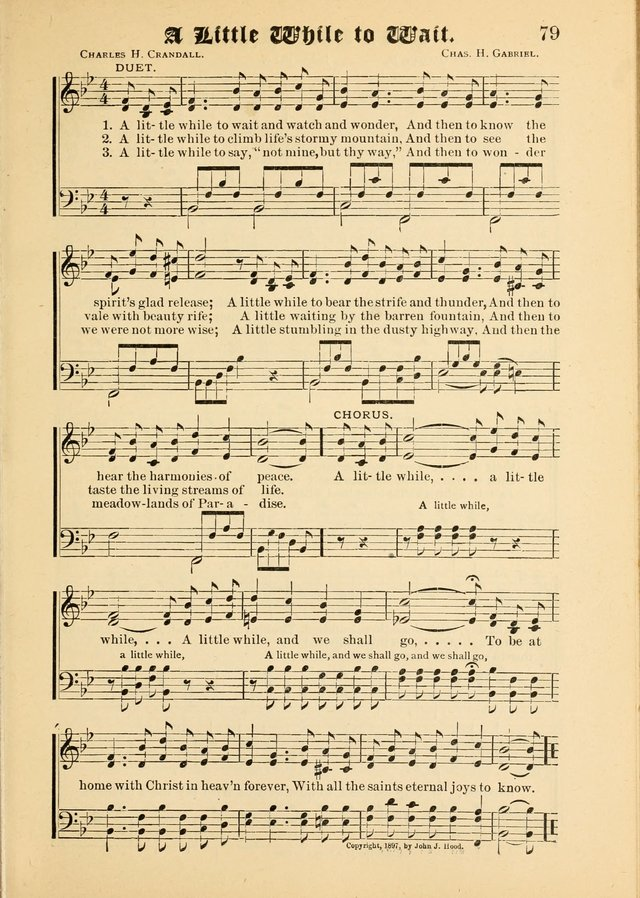 Songs of Love and Praise No. 5: for use in meetings for Christian worship or work page 69