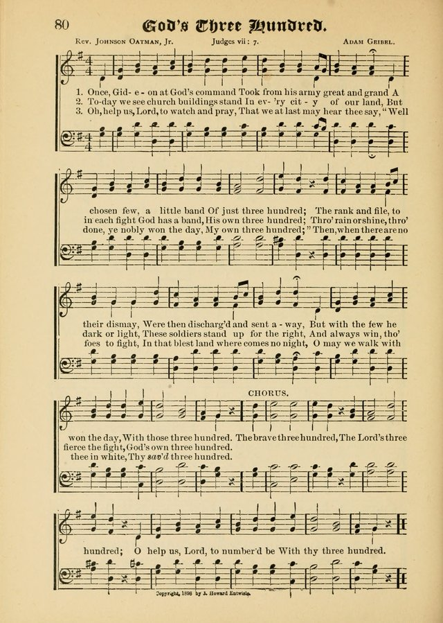 Songs of Love and Praise No. 5: for use in meetings for Christian worship or work page 70