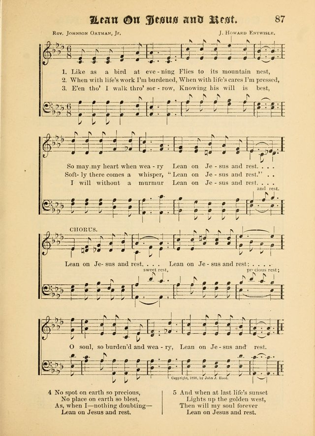 Songs of Love and Praise No. 5: for use in meetings for Christian worship or work page 77