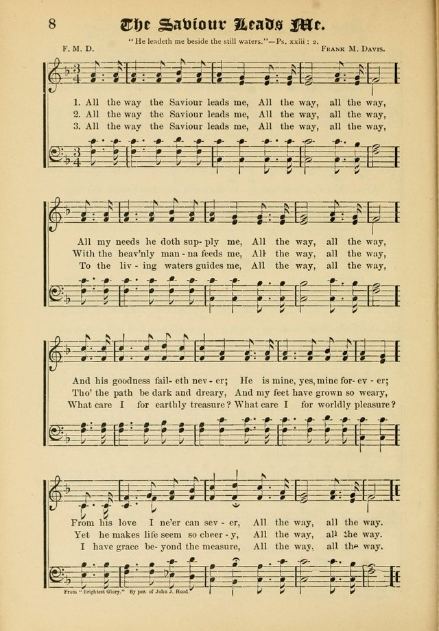 Songs of Love and Praise No. 5: for use in meetings for Christian worship or work page 8