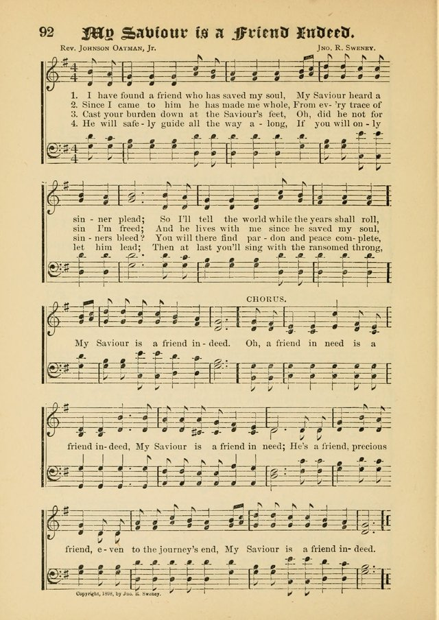 Songs of Love and Praise No. 5: for use in meetings for Christian worship or work page 82