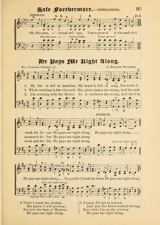 Songs of Love and Praise No. 5: for use in meetings for Christian worship or work page 85