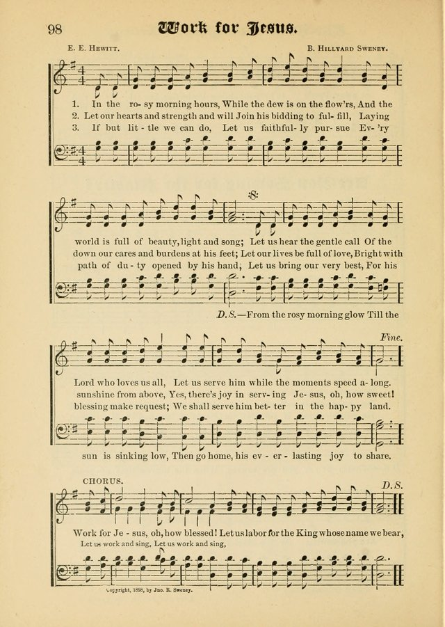 Songs of Love and Praise No. 5: for use in meetings for Christian worship or work page 88