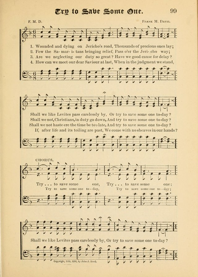 Songs of Love and Praise No. 5: for use in meetings for Christian worship or work page 89