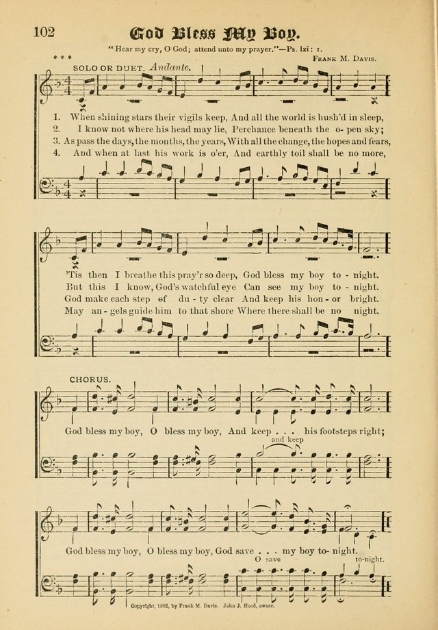 Songs of Love and Praise No. 5: for use in meetings for Christian worship or work page 92